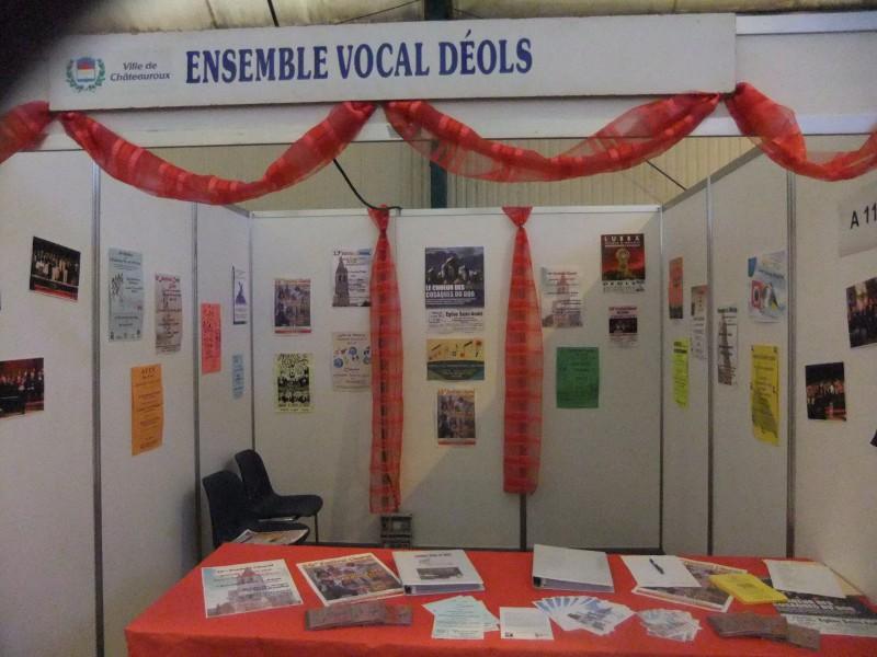 notre stand forum des associations