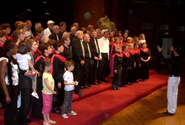 festival 2011 chant commun avec Amalgam
